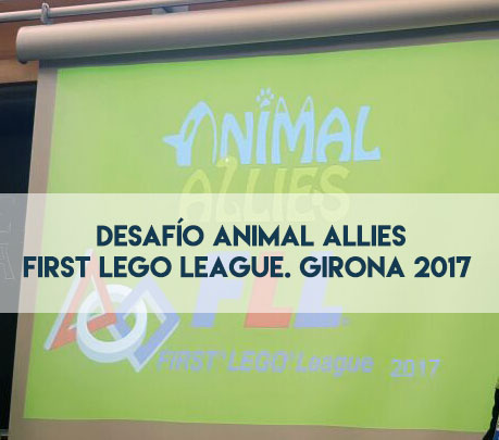 first lego league. girona 2017. acath